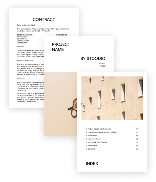 The perfect proposal template for freelancers